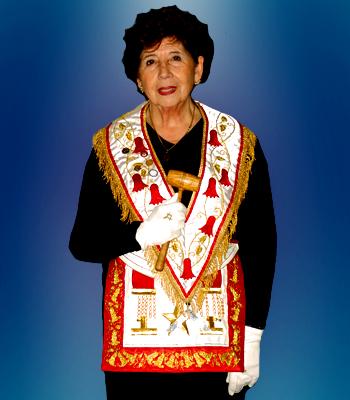 Gran Maestra Q.·.H.·. Oriana Valdés Sanhueza