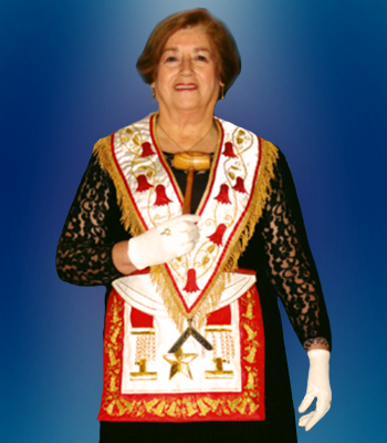 Gran Maestra Q.·.H.·. Nancy Muñoz Miranda