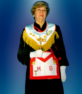 Gran Maestra Q.·.H.·. Eliana Corbalán Barbier