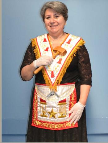 Gran Maestra Q.·.H.·. Susana González Couchot