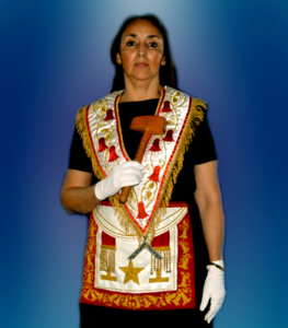 Gran Maestra Q.·.H.·. Ximena Muñoz Muñoz